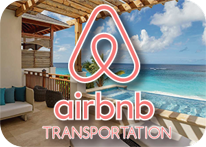Transportation to Airbnb rentals from the Cancun Airport